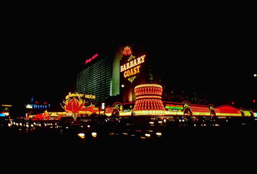 Barbary Coast night Scott Baright Collection, 1992
