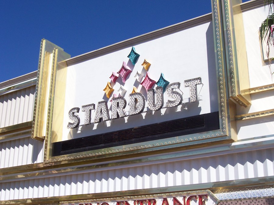 Stardust sign daytime, Neon Museum Photograph Collection, 2006